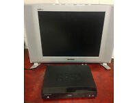 SAMSUNG LE-15E31S 15 - LCD Television with DVB Freeview box and Bush DVD player