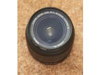 Canon EF S 18-55mm 1:3.5-5.6 IS zoom lens