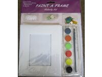 Pant a Frame activity set, Unused.