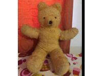 Old teddy bear needs loving home