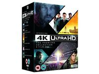 4K Ultra HD Movie Collection (plus blu-ray and digital) - 6 Movies - New and Sealed