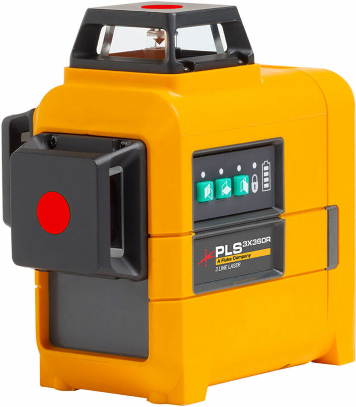 PLS 3X360R Z TOOL 3X360 Red Line Laser Level and Pouch, Bare Tool