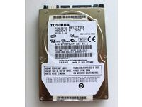 Toshiba 120GB 5400RPM SATA 3Gbps 8MB Cache 2.5-inch