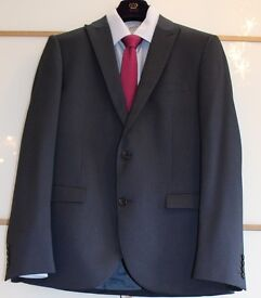 Mens Royal Blue Suit worn once Perfect Condition