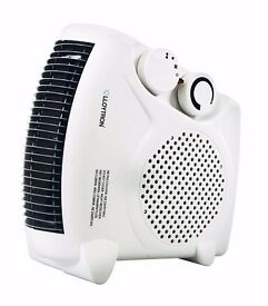 Lloytron British Standard BEAB Approved 2000 W Fan Heater - Two Heat Settings and Cool Blow
