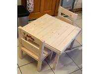 Customised Children's and Chairs.