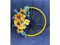 Bespoke Flower Wheel Wedding Wreath Artificial Garden Decoration