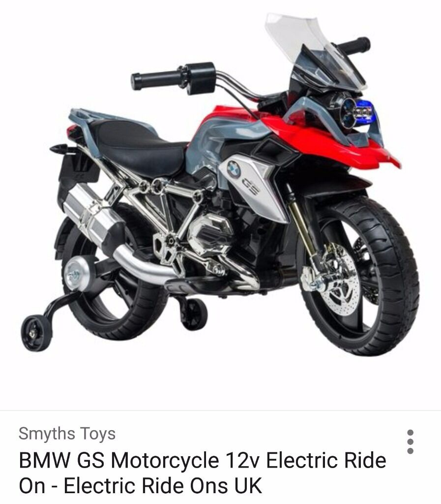 Kids Bmw Gs 12v Ride On Electric Motorbike In East End