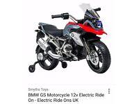 Kids BMW GS 12v ride on electric motorbike