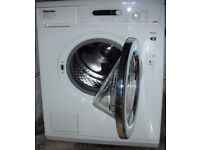 Miele washing machine, excellent working condition, A rated, 1400 spin, 7kg load