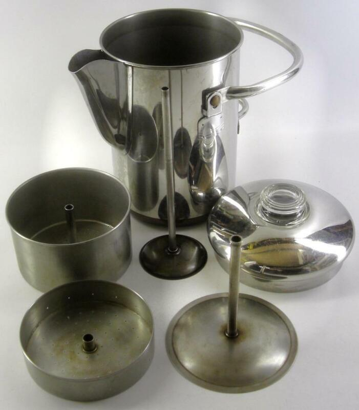 vintage REVERE WARE 14cup Percolator COFFEE POT 24pix