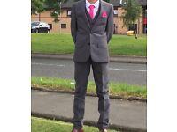Boys suit (grey)