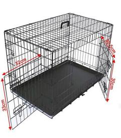 """FREE 24"""" Puppy Crate"""