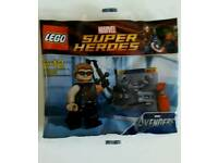 LEGO MARVEL super heros Hawkeye mini figure brand new sealed