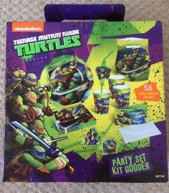 56 peice teenage mutant ninja turtle party set