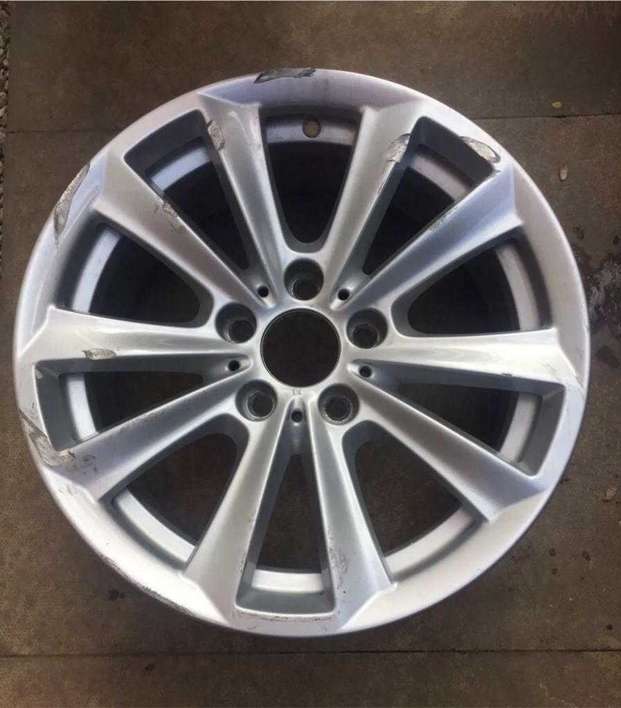 "X1 17"" BMW 5 Series F10 F11 V Spoke Style 236 Alloy Wheel: 5x120"