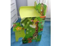 Jungle desk & chair very good condition