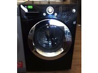 LG - BLACK / CHROME, 9kg / 6kg, 1400, Digital WASHER DRYER + 3 Month Guarantee + FREE LOCAL DELIVERY