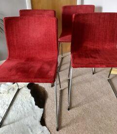 IKEA Bernhard Dining Room Chairs