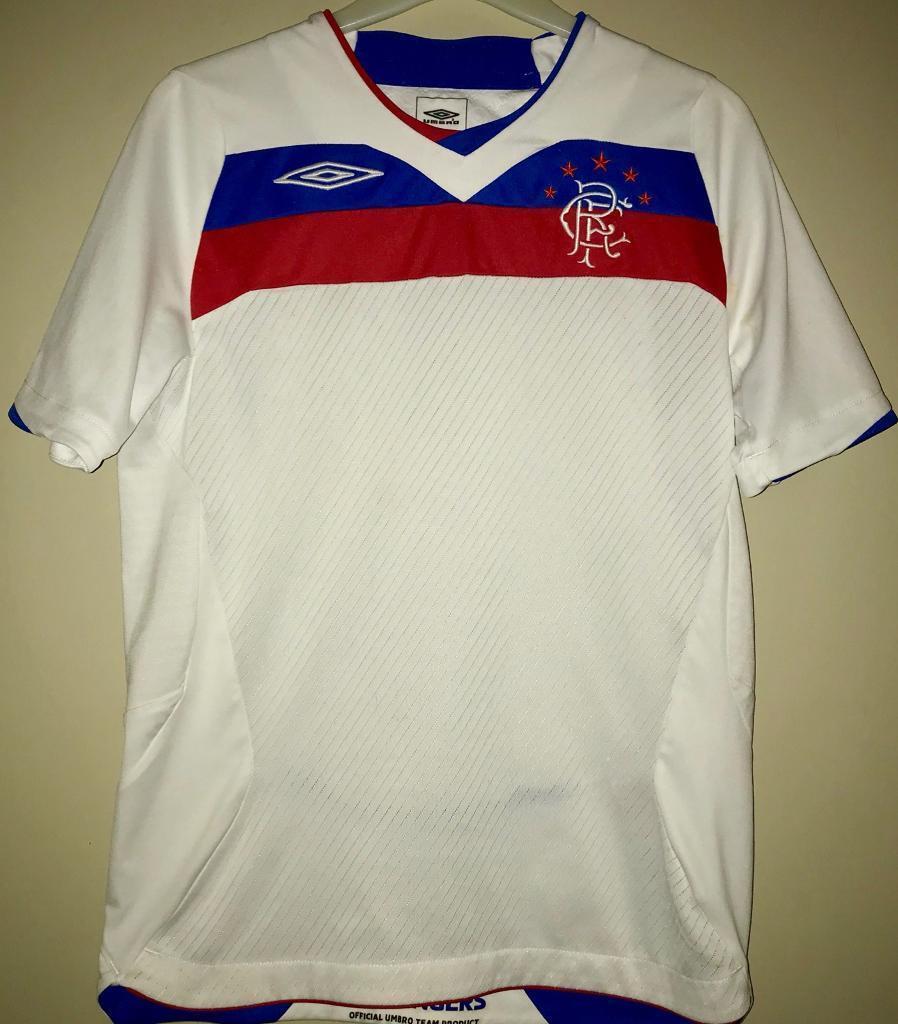 S boys genuine rangers football shirt (SOLD)