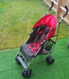 Mamas and Papas single seat stroller with rain cover EXCELLENT CONDITION