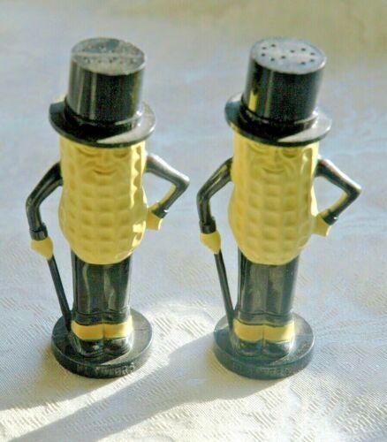 Vintage Planters Mr. Peanut Advertising Salt N Pepper Shakers