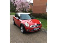 ✅MINI HATCH COOPER 1.6,(2007-57)CHILLIE RED❗Full Service History✅Full MOT No ADVISORIES✅🔑🔑2Keys✅
