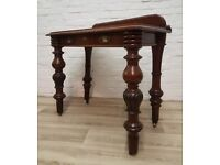Antique Console Table (DELIVERY AVAILABLE FOR THIS ITEM OF FURNITURE)