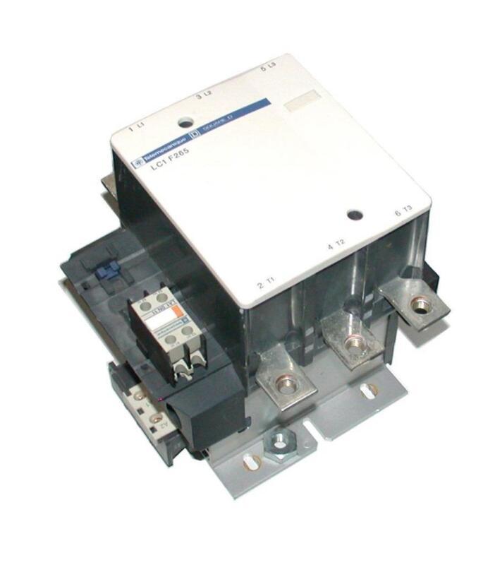 TELEMECANIQUE   LC1F265S121  3-POLE  CONTACTOR  350 AMP 24 VDC COIL