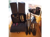 Yamaha Stagepas 600i PA + 1-Yr Warranty/Case/Stands/Covers/Cables
