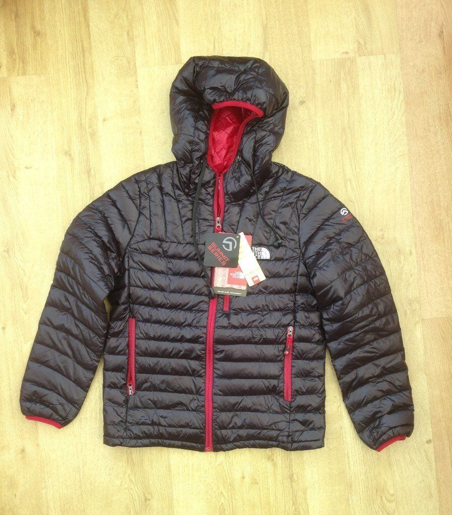 NORTH FACE SUMMIT SERIES HYVENT DT COAT - Mens L - HEADPHONES BAG - BNB  WITH TAGS - LEEK STOKE AREA 4c182409e