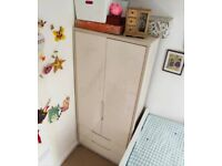 Avola 2 Door 2 Drawer Combination Wardrobe RRP £449 Cream White
