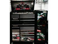 Snap on tool box limited edition mclaren sport lewis hamilton