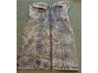 Ladies H&M Denim Dress ~ Size 14