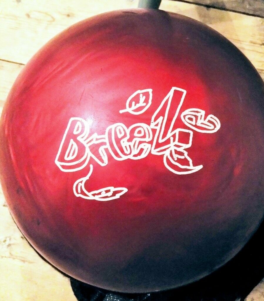 storm breeze pre drilled 8lb bowling ball dark red would suit
