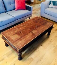 Coffee table - Indian wood