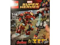 76031 The Hulk Buster Smash - Brand new and sealed set.