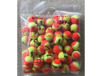 Mini Tennis Stage 2 Orange Tennis Balls 1 Dozen or Bag of 48