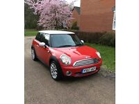 ✅IMMACULATE CONDITION MINI HATCH COOPER 1.6,(2007-57)CHILLIE RED❗Full Service History✅Full MOT✅2keys