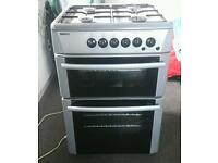 Beko Gas cooker with double oven and grill