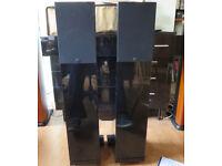 Wilson-Benesch Square 2 Monitors - Superb Sound-Piano Black