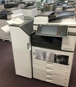 Only $995 Ricoh MP 3352 Monochrome Multifunction Printer BUY LEASE RENT Copy Print Color Scan 11x17 Finisher