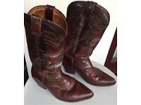 Men's line dancing boots. Cowboy boots Size 9