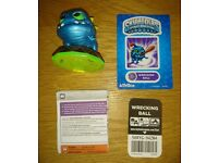 Skylanders Spyros Adventure Figure Wrecking Ball As New Condition