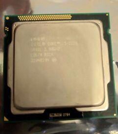 Intel i-5 2320 CPU computer processor