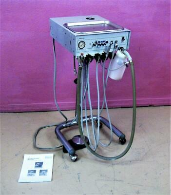 Adec Pac I 3420 Portable Dental Delivery Unit Control Stand Handpiece