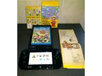 Nintendo Wii u with 4 games
