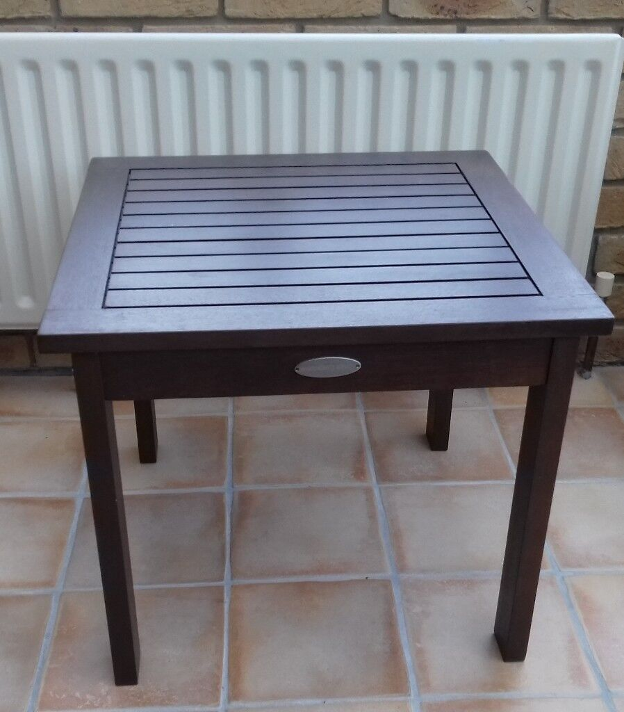 Table Small Wooden (50 x 50 x 42 cm H) approx.
