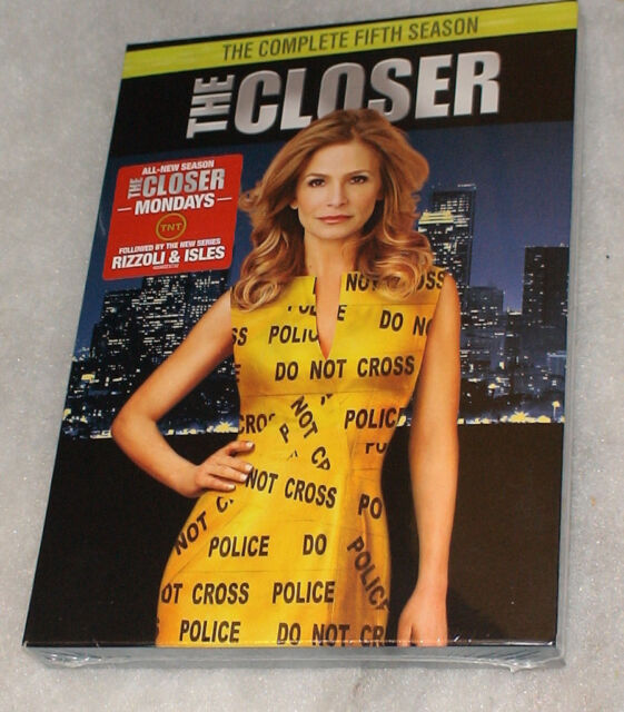 The Closer - Complete Season Series 5 Five - DVD Box Set - NEW SEALED