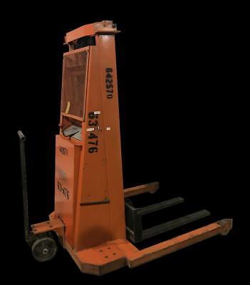 Presto Pst94 Hydraulic Lift Straddle Pallet Stacker 1500 Lb Capacity